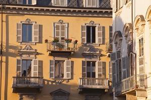 Piazza Carlo Emanuele Ii in Central Turin by Julian Elliott