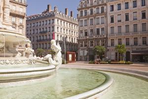 Place Des Jacobins in the City of Lyon, Rhone, Rhone-Alpes, France, Europe by Julian Elliott