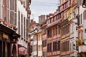 Rue Des Juifs in Strasbourg, Bas-Rhin, Alsace, France, Europe by Julian Elliott