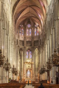 The cathedral of Saint Etienne, Bourges, UNESCO World Heritage Site, Cher, France, Europe by Julian Elliott