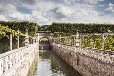 The gardens in the Chateau de Villandry, Indre-et-Loire, Loire Valley, UNESCO World Heritage Site,  by Julian Elliott