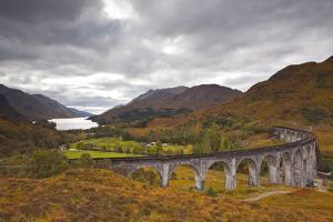 The Magnificent Glenfinnan Viaduct in the Scottish Highlands, Argyll and Bute, Scotland, UK by Julian Elliott