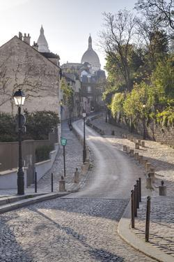 The Montmartre Area with the Sacre Coeur Basilica in the Background, Paris, France, Europe by Julian Elliott