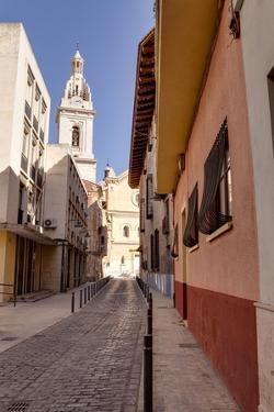 The Narrow Streets of Xativa, Valencia, Spain, Europe by Julian Elliott