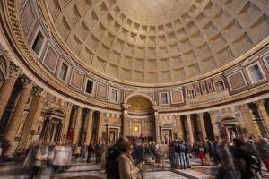 The Pantheon in Rome, Lazio, Italy, Europe by Julian Elliott