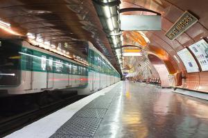 The Paris Metro Station of Arts Et Metiers, Paris, France, Europe by Julian Elliott