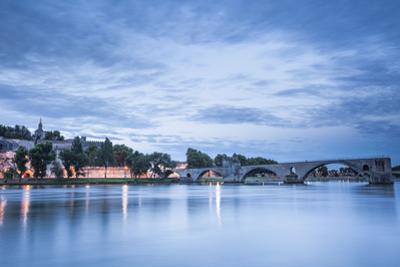 The Pont d'Avignon at dawn, Avignon, Vaucluse, Provence, France, Europe by Julian Elliott