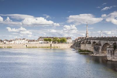 The Pont Jacques Gabriel in Blois, Loir-et-Cher, Centre-Val de Loire, France, Europe by Julian Elliott