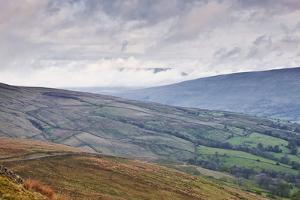 The Rolling Hills of the Yorkshire Dales National Park Near Dentdale by Julian Elliott