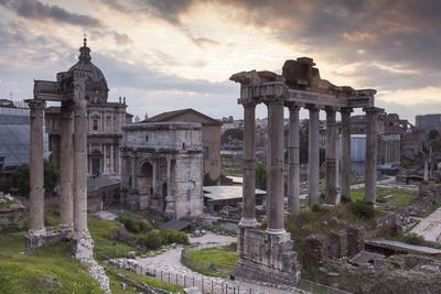 The Roman Forum (Foro Romano), Rome, Lazio, Italy, Europe