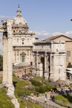 The Roman Forum (Foro Romano), Rome, Lazio, Italy, Europe by Julian Elliott