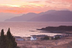 The Sound of Sleat During Sunrise from the Isle of Skye by Julian Elliott