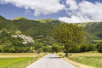 The village of Campi in the Monti Sibilini National Park, Umbria, Italy, Europe by Julian Elliott