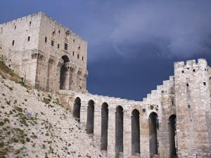Citadel before a Storm, Aleppo by Julian Love