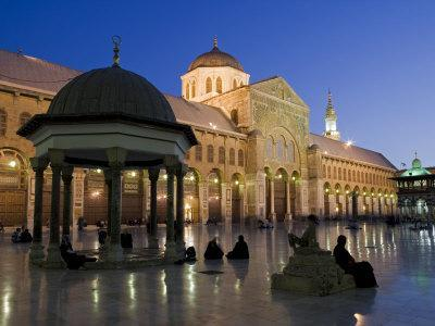 Dome of the Clocks in the Umayyad Mosque, Damascus, Syria