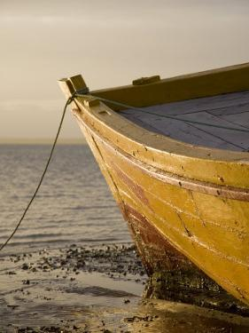 Fishing Boat on the Beach at Low Tide, Ilha Do Mozambique by Julian Love