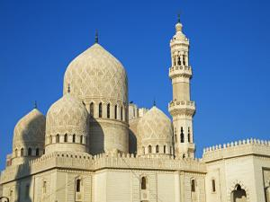 Mosque of Abu Al-Abbas Al-Mursi, One of the Landmarks Along the Corniche at Alexandria, Egypt by Julian Love
