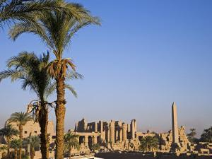 Panorama over the Sprawling Ruins of Karnak Temple, Luxor by Julian Love
