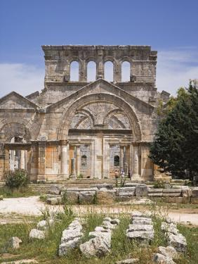 Ruins of the Basilica of St Simeon Stylites the Elder in the Hills Near Aleppo by Julian Love