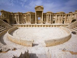 Theatre in the Spectacular Ruined City of Palmyra, Syria by Julian Love