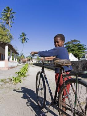 Young Boy on Ibo Island, Part of the Quirimbas Archipelago, Mozambique by Julian Love