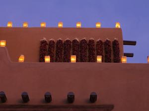 Farolitos, Santa Fe, New Mexico, USA by Julian McRoberts