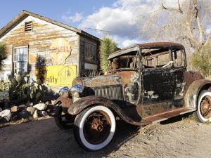Route 66, Hackberry, Arizona, USA by Julian McRoberts