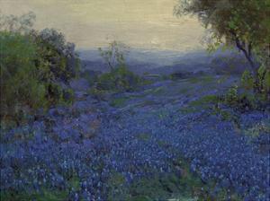 Bluebonnets in Spring by Julian Onderdonk