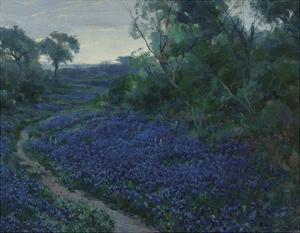 Bluebonnets in the Misty Morning by Julian Onderdonk