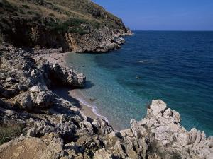 Rocky Coast, Island of Sicily, Italy, Mediterranean by Julian Pottage