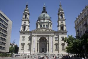 St. Stephen's Basilica, the Largest Church in Budapest, Hungary, Europe by Julian Pottage