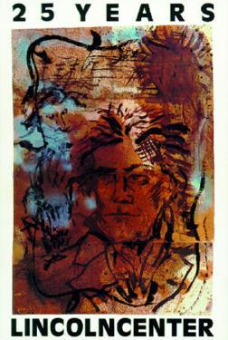 25 Years - Lincoln Ctr 1984 by Julian Schnabel