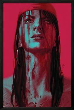 Thuderbolts #11 Cover: Elektra by Julian Totino Tedesco