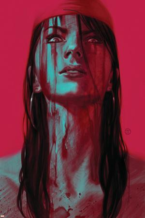 Thuderbolts #11 Cover: Elektra by Julian Totino Tedesco