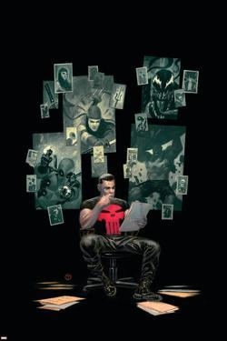 Thuderbolts #12 Cover: Punisher, Venom, Elektra, Deadpool, Red Hulk by Julian Totino Tedesco