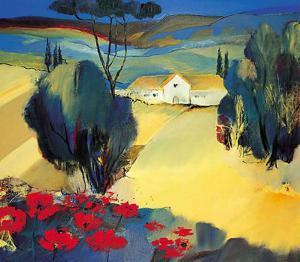Italien Poppies II by Juliane Jahn