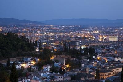 Granada City from the Mirador De San Nicolas Lookout
