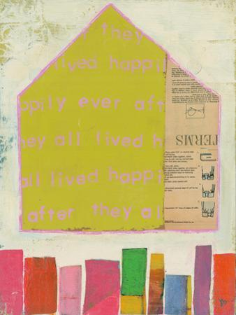 Happy Home In Yellow by Julie Beyer