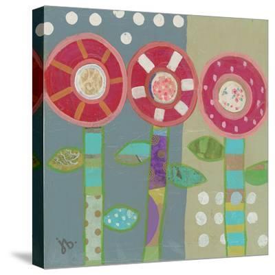 Trio Of Red Flowers by Julie Beyer