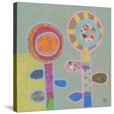 Two Flowers (1) by Julie Beyer