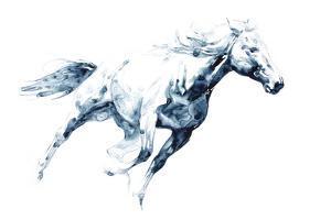 Sapphire Gallop I by Julie Chapman