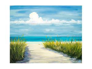 Beach Scene I by Julie DeRice
