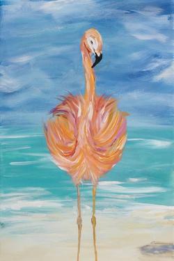 Flamingo I by Julie DeRice