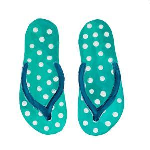 Polka Dot Flip Flops I by Julie DeRice