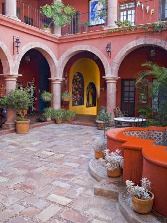 A Six Bedroom Bed & Breakfast, San Miguel, Guanajuato State, Mexico