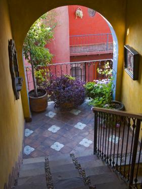 Casa De La Cuesta, San Miguel, Guanajuato State, Mexico by Julie Eggers