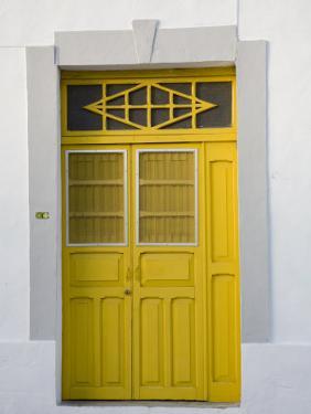 Colorful Doors, Merida, Yucatan, Mexico by Julie Eggers