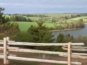 Countryside near New Glascow, Prince Edward Island, Canada by Julie Eggers