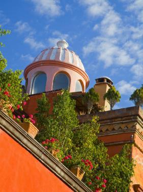 Dome of A Church, San Miguel De Allende, Guanajuato State, Mexico by Julie Eggers