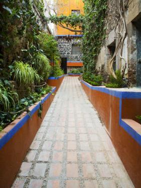 Entrance To A Villa, San Miguel, Guanajuato State, Mexico by Julie Eggers